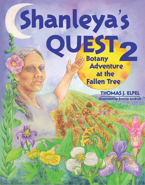 Shanleya's Quest 2: Botany Adventure at the Fallen Tree.