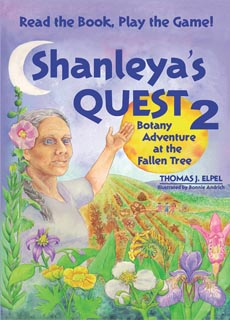 Shanleya's Quest 2 Patterns in Plants Card Game.