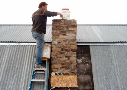 Building A Stone Chimney